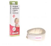 Бандаж шейного отдела мягкий для младенцев К-80-07, выс. 4, 5 см