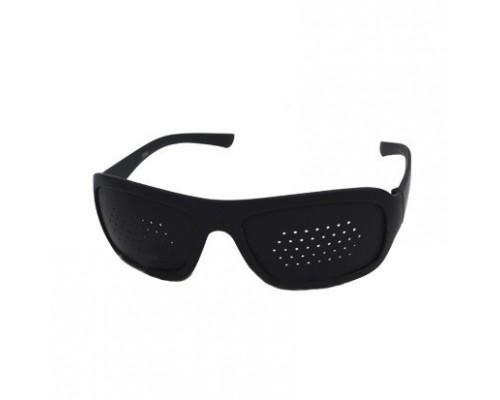 Перфорационные очки-тренажеры в пластиковой оправе