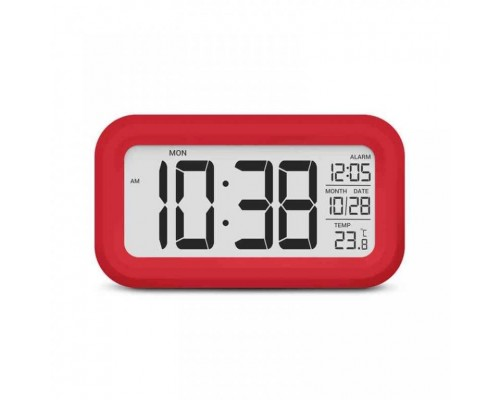 Термометр цифровой с часами Т-16
