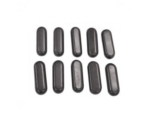 Набор массажных камней из базальта 10 шт. СПА-10