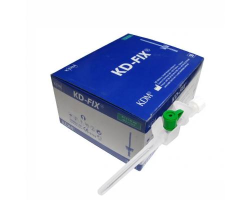 Катетер внутривенный KD-Fix 18G (1,3 х 45мм), ПВХ