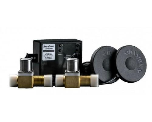 Блокиратор протечек воды АкваБлок-Золушка с 2-мя металлич. клапанами Биос