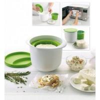 Аппарат для приготовления домашнего творога и сыра НЕЖНОЕ ЛАКОМСТВО, зеленый, Bradex