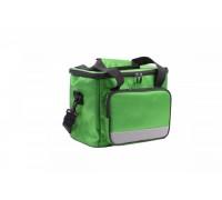 Сумка-холодильник на ремне Bradex 33*23*28см, цвет зеленый