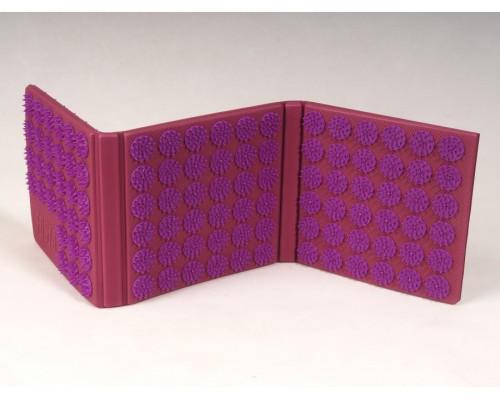 Коврик массажный (аппликатор), 6-ти секционный, Fosta F 0120, фиолетовый
