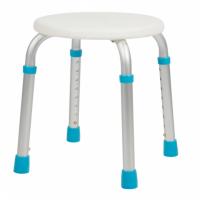 Табурет для ванны Lux 505 (голубые насадки на ножки)
