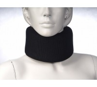 Бандаж шейного отдела, черный, мягкий Комф-Орт К-80-08 (выс.10,5см)