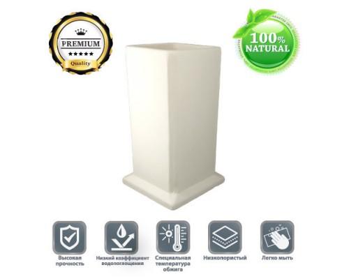 Керамический стакан из белой глины Premium