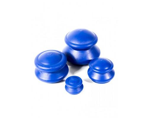 Массажные вакуумные банки резиновые Matwave М-04 (4шт)