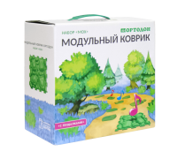 """Ортопедический массажный коврик ОРТОДОН набор """"Мох"""" с пищалками"""