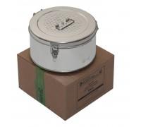Коробка стерилизационная круглая с фильтрами КФ-9