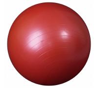 Мяч гимнастический красный (фитбол) ортосила l 0165 b, диаметр 65 см