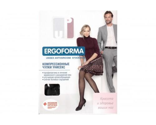Чулки компрессионные унисекс Ergoforma EU 214