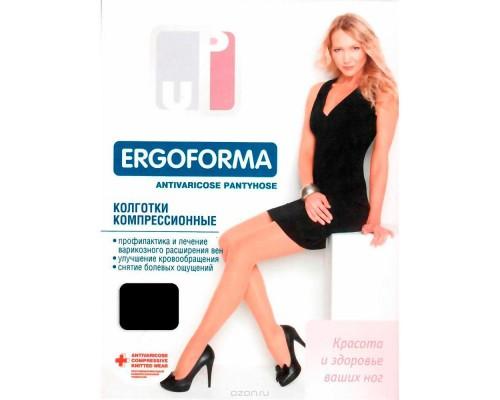 Колготки компрессионные Ergoforma 102 цв. черный, размер №1