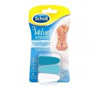 Сменные насадки для электрической пилки для ухода за ногтями Scholl Velvet Smooth