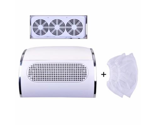 Вытяжка (пылесос) для маникюра 3 вентилятора 40W
