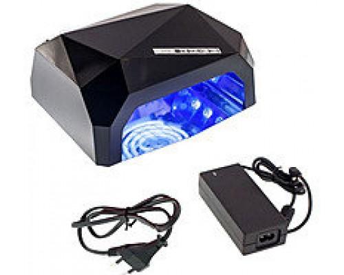 Гибридная лампа для сушки ногтей УФ LED+CCFL 36 Вт