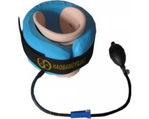 Надувной лечебный шейный воротник с фиксатором