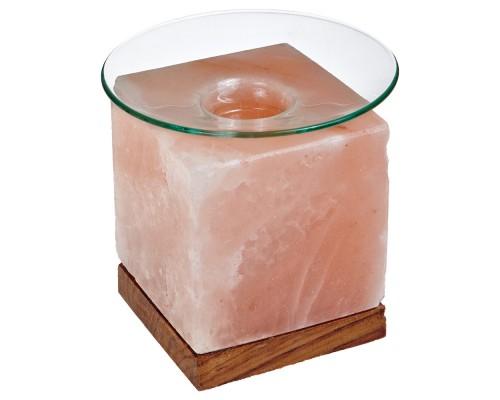 Арома лампа соляная Кубус