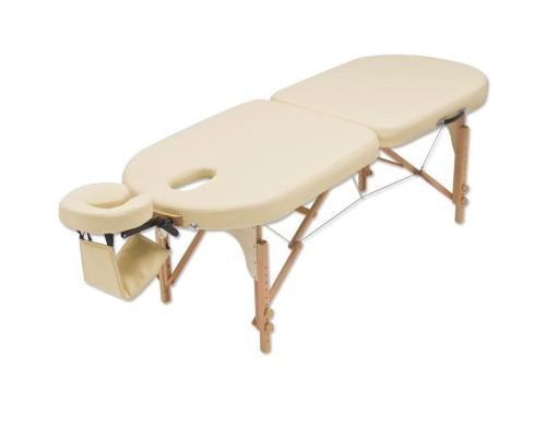 Массажный складной стол JF-Oval двухсекционный