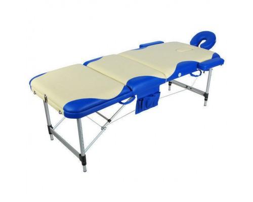 Массажный стол JFAL01A М/К (МСТ-102Л) трехсекционный
