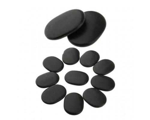 Набор массажных камней из базальта 12 шт. СПА-21