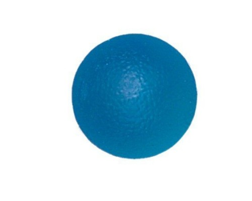 Мяч для тренировки кисти (шаровидной формы) ортосила l 0350 f жесткий, синего цвета
