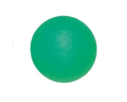 Мяч для тренировки кисти полужесткий зеленый ортосила L 0350M, диам. 5 см