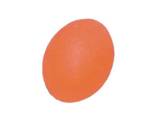 Мяч для тренировки кисти яйцевидной формы мягкий оранжевый ортосила L 0300S