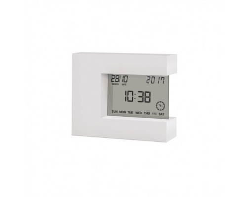 Термометр цифровой с часами Т-08