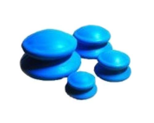 Банки резиновые для вакуумного массажа 4шт