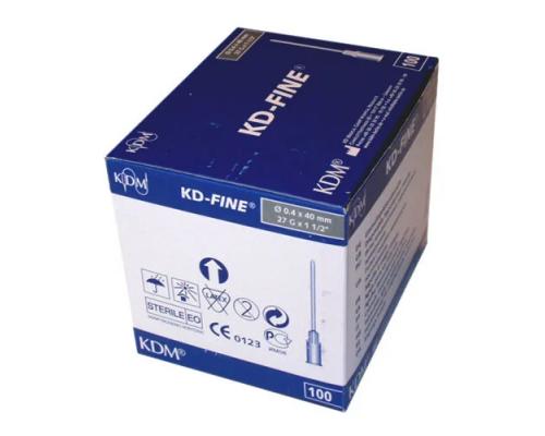 Игла инъекционная KD-Fine 27G (0,4 Х 18)