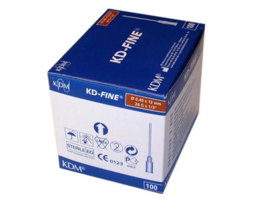 Игла инъекционная KD-Fine 26G (0,45 Х 12)
