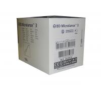 Игла одноразовая инъекционная 22G (0,7 X 30 ММ) тонкая стенка