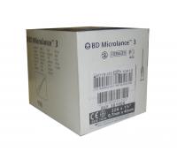 Игла одноразовая инъекционная 22G (0,7 X 40 ММ) тонкая стенка