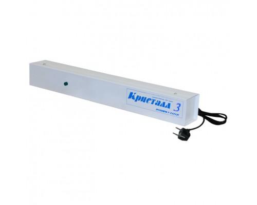 Облучатель-рециркулятор ультрафиолетовый бактерицидный Кристалл-3