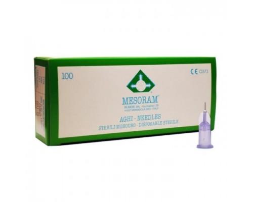 Игла для микроинъекций 30G (0,30 х 4) Mesoram