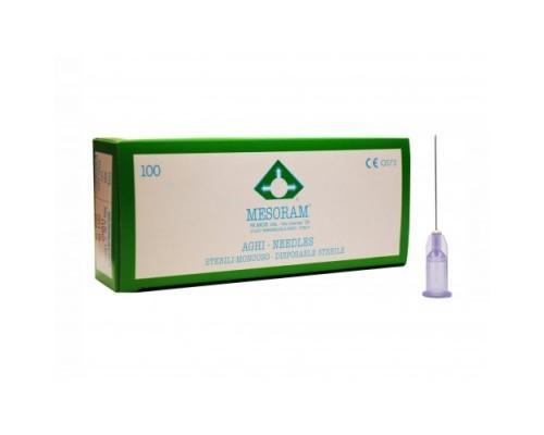 Игла для мезотерапии 30G (0,30 х 25) Mesoram
