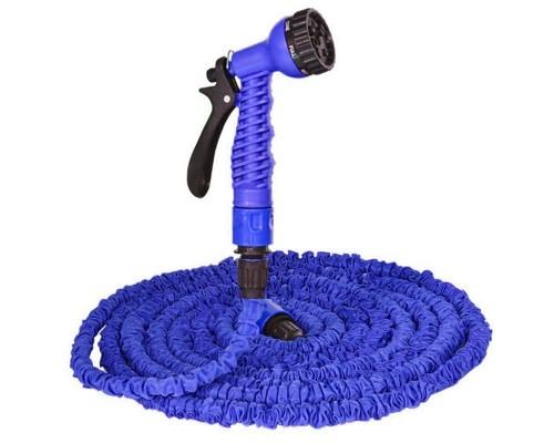 Шланг для полива Xhose 30 метров с пистолетом-распылителем и запорным клапаном