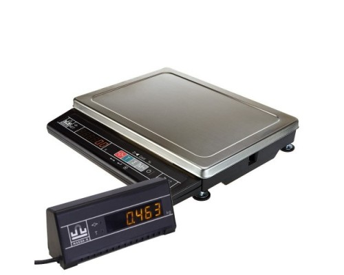 Весы общего назначения МК-А21(ИВ) (светодиодный индикатор, сеть/аккумулятор) с подключением доп. выносного индикатора