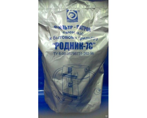 РОДНИК-7С сменный фильтр патрон с умягчением воды