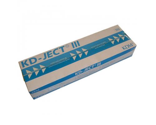 Шприц KD-Ject-3 (3-х комп.) 3 мл, игла 23G (0,6х30)