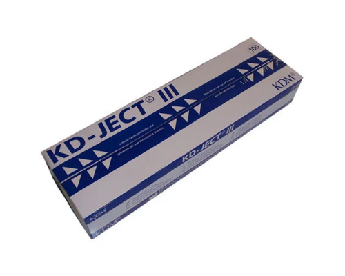 Шприц KD-Ject-3 (3-х комп.) 2 мл, игла 23G (0,6Х30)