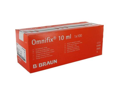 Шприц B.Braun Omnifix (3-комп.) 10 мл, без иглы, Luer Lock